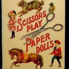 Vintage Uncut Scissors Play Paper Dolls Graham & Matlack New York #0242 No Date