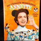 Disney's Mouseketeer Annette Cut-Out Paper Dolls Whitman 1956  2 Dolls