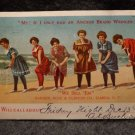 Vintage Advertising Postcard for Anchor Brand Wringer Used  Undivided Back 1907
