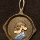 Vintage Black Americana Uncle Moses Ash Tray/Spoon Rest  3 Inches Diameter