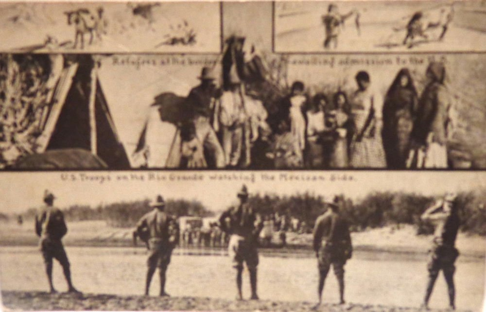 Military Real Photo Postcard Split Design 3 in One Posted Divided Back
