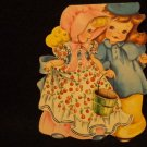 "Vintage American Greeting Card  ""Jack and Jill""  1949  Has signature inside card"