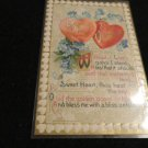 Valentine Postcard John Winsch 1910  Embossed Design   Unused  Vintage