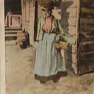 "Black Americana Postcard ""Vegetable Vendor""   Used  Divided Back"