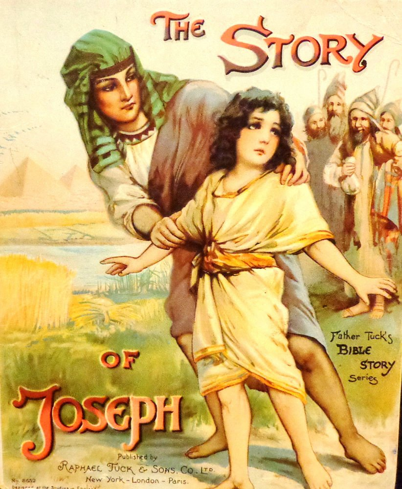 First Ed. The Story of Joseph Father Tuck's Bible Story Series #3652 Children