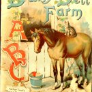 Daisy Dell Farm Father Tuck's Play & Pleasure Series ABC Pub. circa 1900 Linen