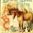 Daisy Dell Farm Father Tuck's Play & Pleasure Series ABC Pub. circa 1900 Linen