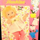 Vintage Newborn Thumbelina Paper Dolls Uncut Whitman 1969 Almost Mint