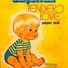 "Vintage Paper Dolls Uncut ""Baby Brother Tender Love"" Whitman Pub. 1977"
