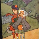 "Raphael Tuck Oilette Printed Lithograph  Postcard ""Highland Ladies England"