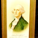 Vintage George Washington Birthday Postcard  Divided Back Used Embossed Design
