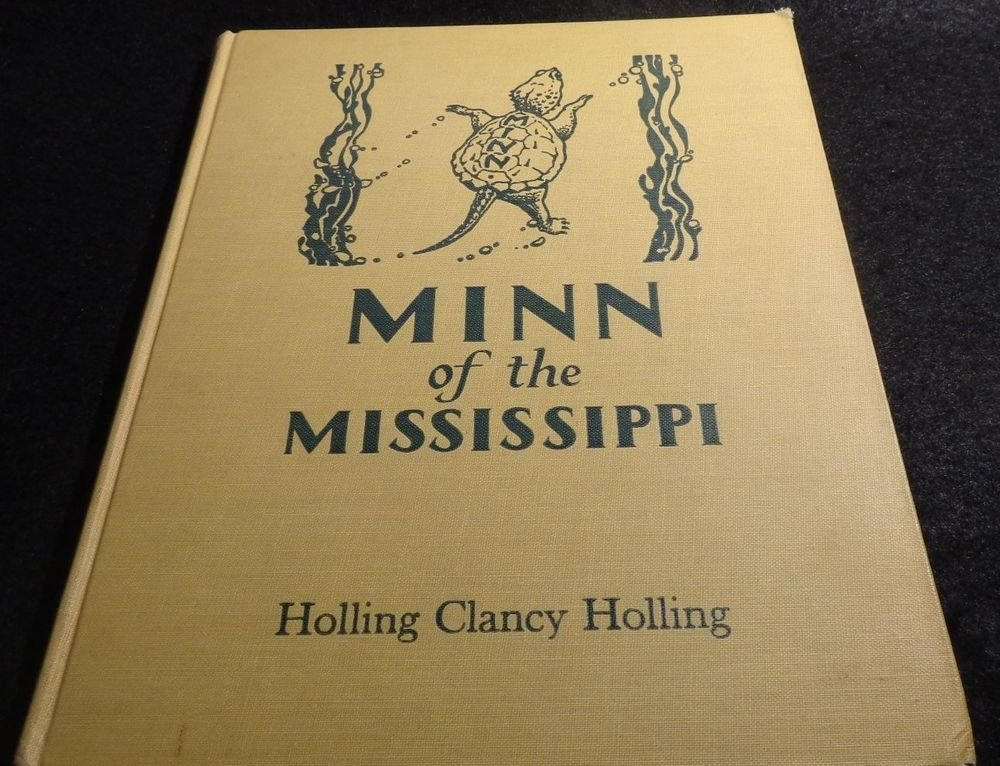 Holling Clancy Holling Vintage Book  1951  MINN OF THE MISSISSIPPI