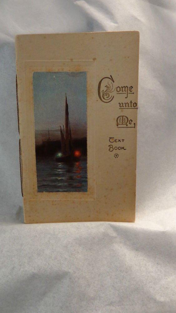 Raphael Tuck & Sons Religious Booklet # 0451 Vintage Victorian