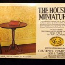 House of Miniatures No. 40008  Queen Anne Tilt-Top Table Mint in Box Never Opene