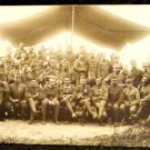 World War I Real People Postcard German Soldiers in Uniform Used Postmarked 1916