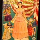 American Beauty Paper Dolls  UNCUT White House Dresses  Merrill 1951