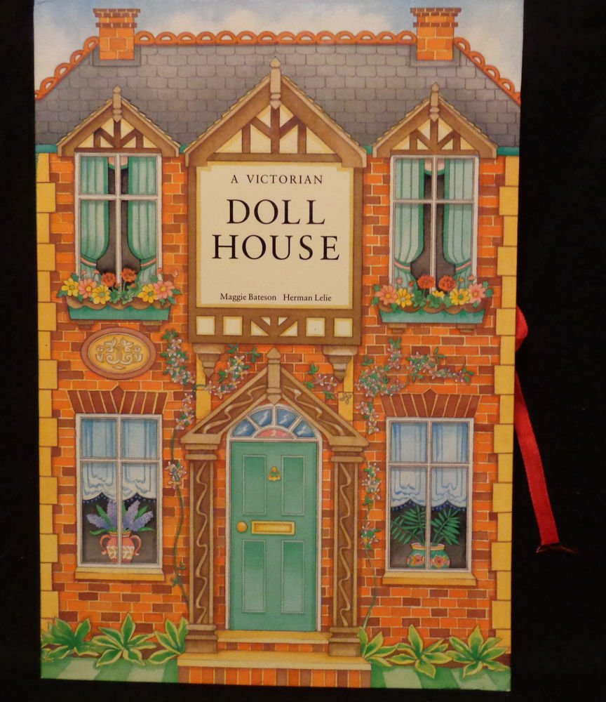 Pop-Up Book A Victorian Doll House  Mint Condition 1991 FIRST EDITION