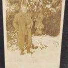 World War I Real People Postcard German Soldier Not Postally Used Divided Back