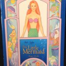 The Little Mermaid Paper Dolls Uncut  Peck Aubrey Publisher 1997 Almost Mint