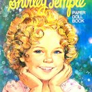 Shirley Temple Paper Doll Book  UNCUT  Whitman Pub. Co. 1976 Excellent Condition