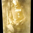 Military WW I Real People Postcard German Ace Pilot Max Immelmann Unposted