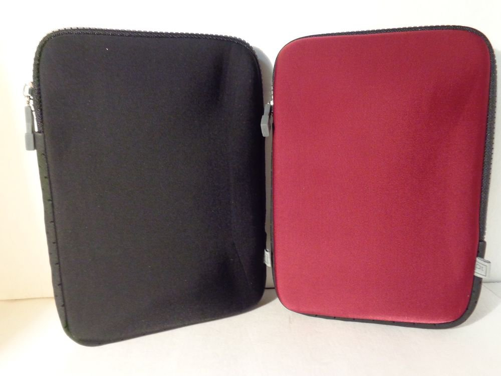 """7"""" inch tablet case/Works with all 7"""" tablets by Platinum/ COMES IN BLACK OR RED"""
