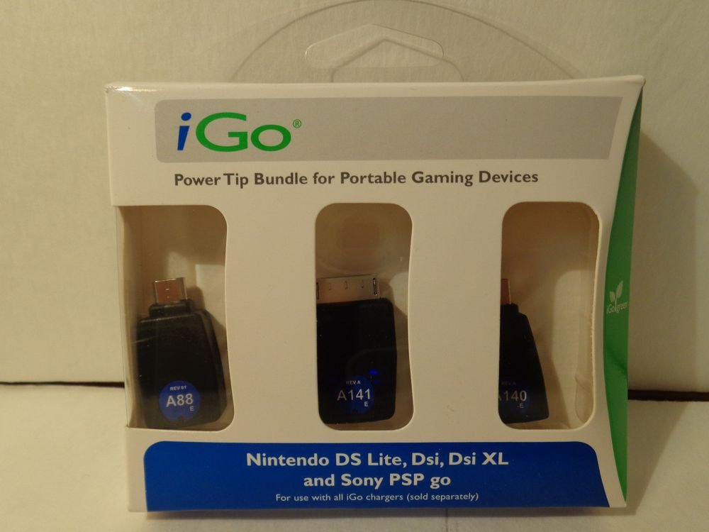 Power tip Bundle for portable gaming devices/for nintendo Ds lite/Dsi XL/PSP GO