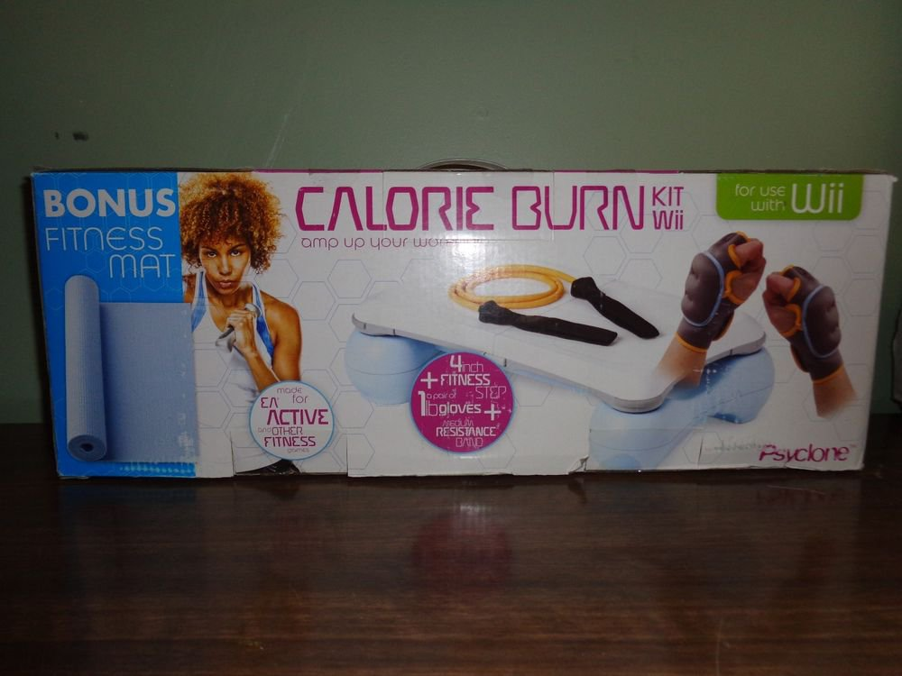 Calorie burner Kit for Wii by Cyclone/Made for Ea active and other fitness games