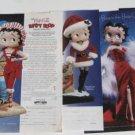 Betty Boop Comic-strip/Cartoon Dolls Ad Lot of 5 Ads