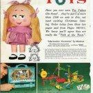 60s Mattel Talking Shrinkin/Shrinking Violette Doll Ad Pg Catalog Advertisement