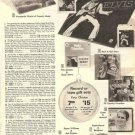 70s Record Albums Ad Page~Elvis Presley LPs/Tapes ,Fats Domino,Perry Como,Etc