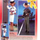 Mattel Barbie Salutes Our Country's Armed Forces Ad~Navy/Air Force Dolls Advert