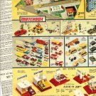 1970s Vintage Matchbox,Tootsietoys,My Town,Tonka Catalog Ad Pgs w/Prices Listed