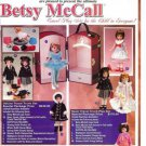 2001 Betsy McCall Travel Trunk Play Sets/Outfits Ad Pg