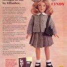 1998 Effanbee CINDY by Dewees Cochran Repro Doll Ad