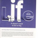 2006 Met Life Insurance Woodstock/Snoopy w/Tool Box Ad