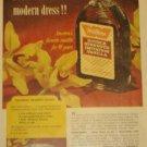 1959 Watkins(Winona MN)Products Vanilla Ad~Colonial Dessert Sauce Recipe~Orchids
