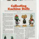 1994 Article/Pics/Info~Collecting Kachina Indian Dolls