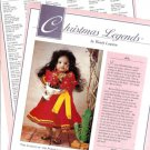 1992 Wendy Lawton Legend of Poinsettia Maria Elena Christmas Legends Doll Ad Pg