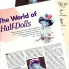 1993 Article on Half Dolls, Dollmakers Marks