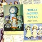 1986 Article/Pics/Info on Holly Hobbie Knickerbocker,American Greetings Dolls