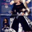 1996 Avon Catalog Cover Page plus Winter Velvet Barbie Doll (2-Pg) Ad~Nice!!!