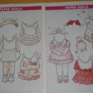 1993 Cute Magazine Paper Doll & Outfits by Yuko Green