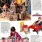 1994 Vintage Playmobil King's Castle Ad/Fantasy Dream Home Doll House Ad Page