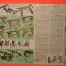 1957 Hartland Cowboy Guns,Hartland Figures,Horses Ad
