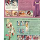 1970s Mego Dinah-Mite Doll Ad/Kenner Dusty Doll Ad