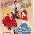 1982 Little Tikes President Tom Murdough Advertises Happy Pumper & Car Toys Ad