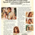 1975 Clairol Hair Condition Treatment Ad~Julius Caruso
