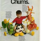 1972 Romper Room Inchworm/Frisky/Do Bee Rider Toys Ad