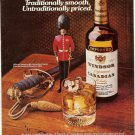 1977 ad picturing Grenadier Guard Soldier Officer's sword 1815 Waterloo Battle